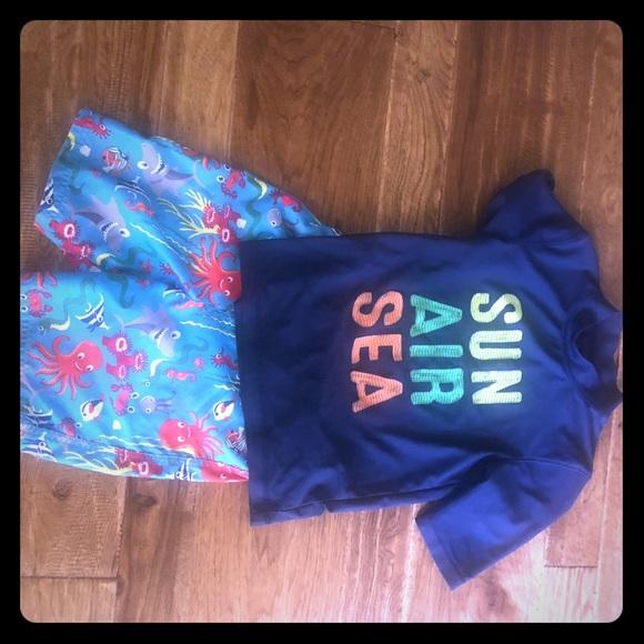 Circo Other - 5T swim trunks with 6/7 swim shirt